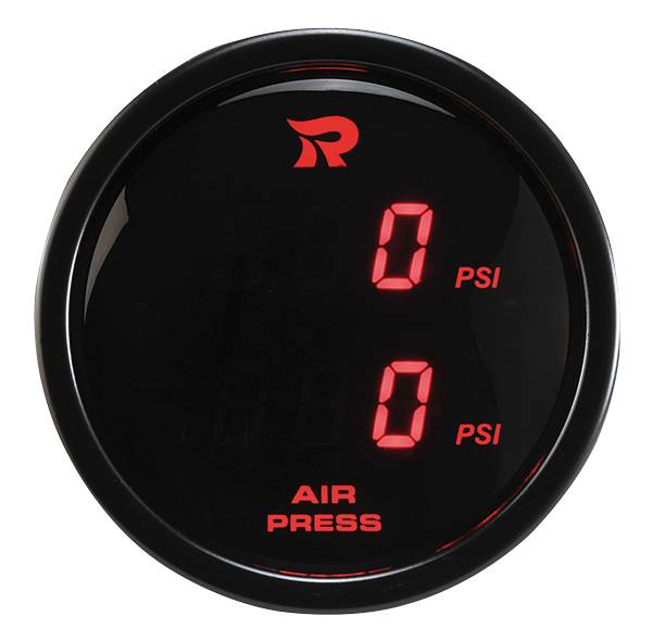 52 mm Digital Dual Display Air Pressure Gauge-PSI