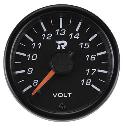 45mm Performance Miniature Voltmeter Gauge