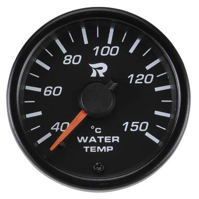 45mm Performance Miniature Water Temperature Gauge-℃