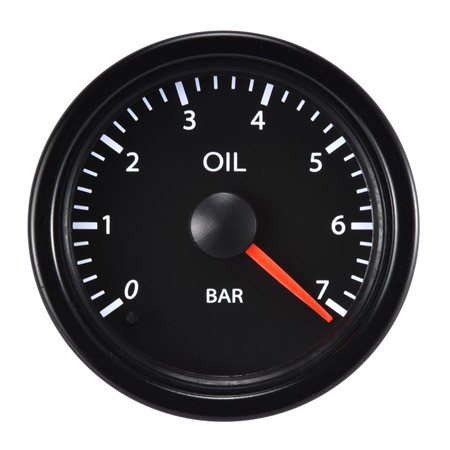 52mm Performance Oil Pressure-7BAR