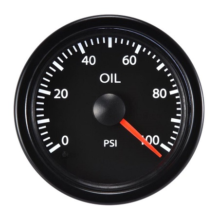52mm Performance Oil Pressure Meter-100PSI