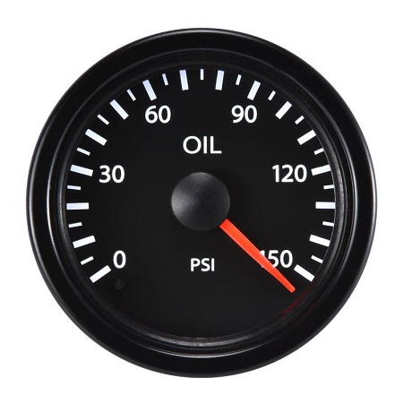 52mm Performance Oil Pressure Meter-150PSI