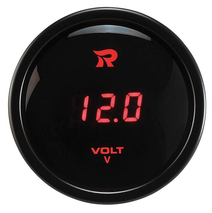 52 mm Digital Voltmeter Gauge