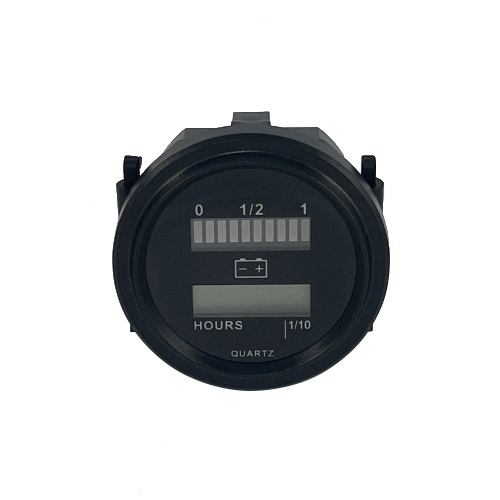 Battery Level Indicator & Hour Meter