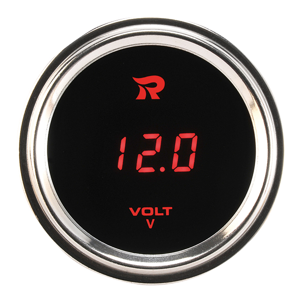 52mm Marine OutdoorDigital Voltmeter