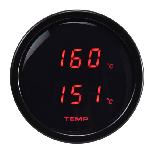 52mm Digital Dual Display Temperature Gauge-℃