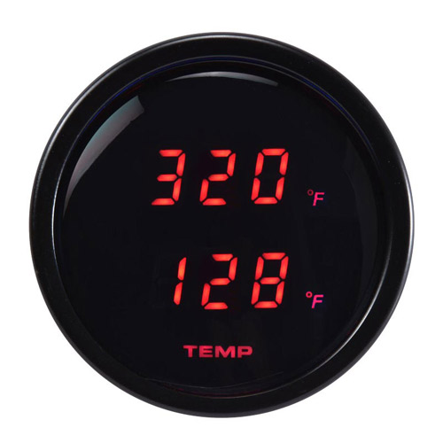 52mm Digital Dual Display Water Oil Temperature Gauge-℉