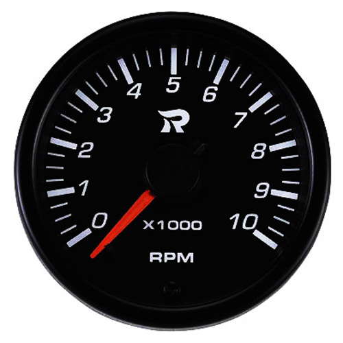 45mm Performance Miniature Tachometer Gauge