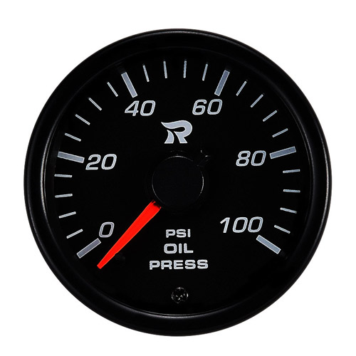 45mm Performance Miniature Oil Pressure Gauge-PSI