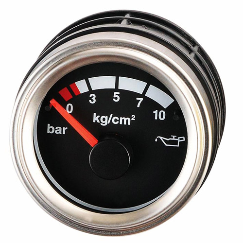 52mm Marine Outdoor Oil Pressure Meter