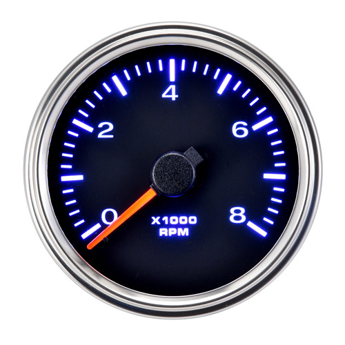 85mm Motorcycle Outdoor Diesel Tachometer 8000 RPM