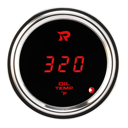 52mm Motorcycle Outdoor Digital Oil Temperature Gauge-℉